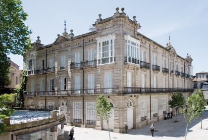 Vista exterior Centro Cultural Marcos Valcárcel